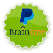 Graphic of PayPal and BrainTree logos