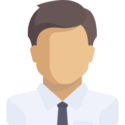 Client review headshot silhouette icon
